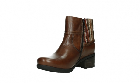 wolky ankle boots 07502 aspire 29430 cognac leather_10