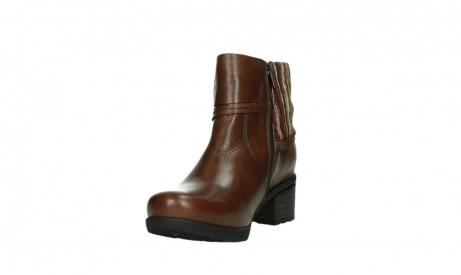 wolky ankle boots 07502 aspire 29430 cognac leather_9