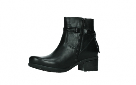 wolky ankle boots 07504 macau 20000 black leather_11