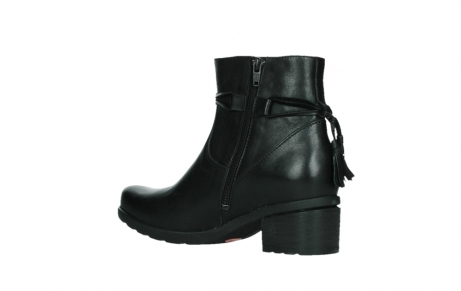 wolky ankle boots 07504 macau 20000 black leather_15