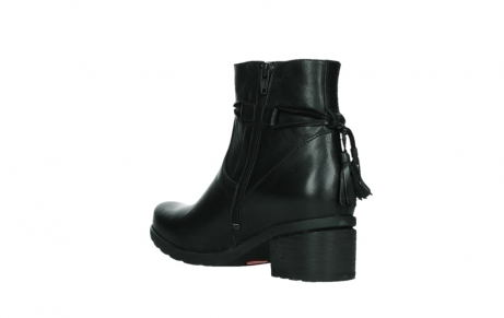 wolky ankle boots 07504 macau 20000 black leather_16
