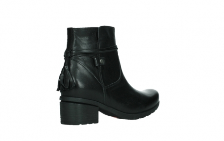 wolky ankle boots 07504 macau 20000 black leather_22