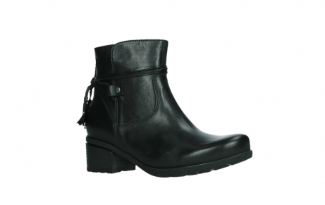 wolky ankle boots 07504 macau 20000 black leather_3
