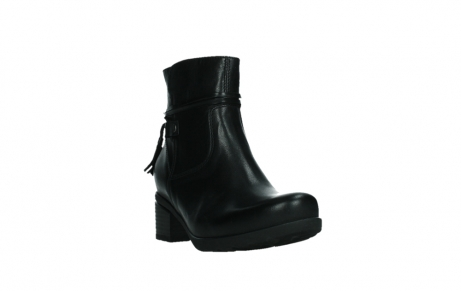 wolky ankle boots 07504 macau 20000 black leather_5