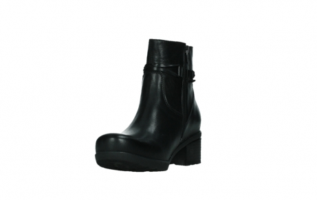 wolky ankle boots 07504 macau 20000 black leather_9