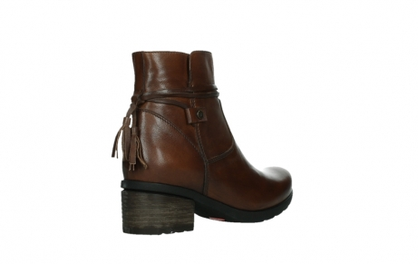 wolky ankle boots 07504 macau 20430 cognac leather_22
