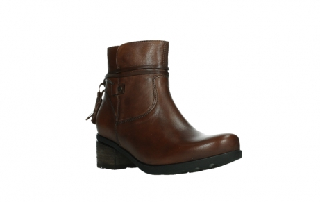 wolky ankle boots 07504 macau 20430 cognac leather_4