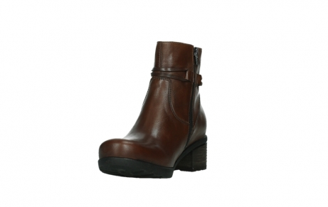wolky ankle boots 07504 macau 20430 cognac leather_9