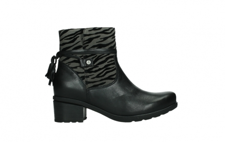 wolky ankle boots 07504 macau 28000 black effect leather_1