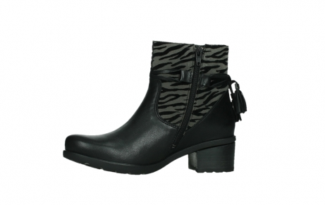wolky ankle boots 07504 macau 28000 black effect leather_12