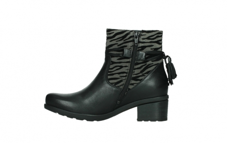 wolky ankle boots 07504 macau 28000 black effect leather_13