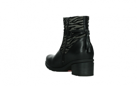 wolky ankle boots 07504 macau 28000 black effect leather_17