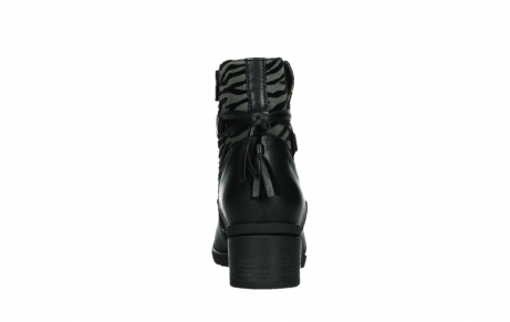 wolky ankle boots 07504 macau 28000 black effect leather_19