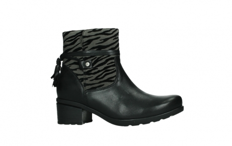 wolky ankle boots 07504 macau 28000 black effect leather_2