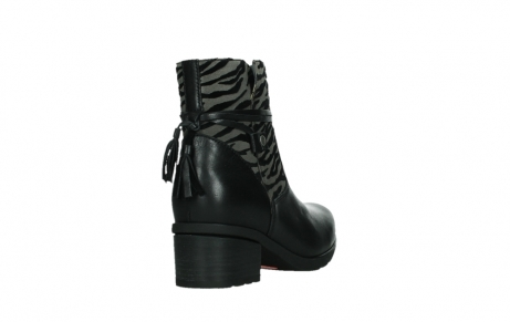 wolky ankle boots 07504 macau 28000 black effect leather_21