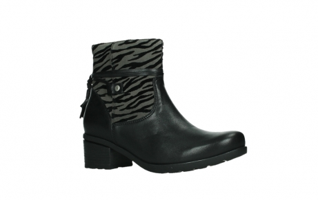 wolky ankle boots 07504 macau 28000 black effect leather_3