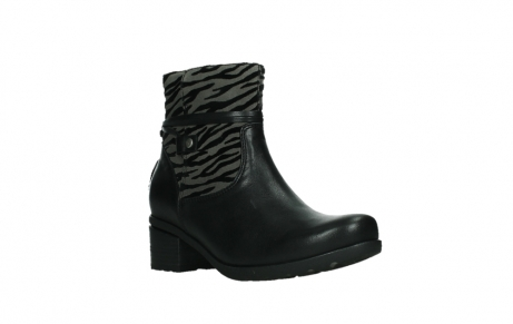 wolky ankle boots 07504 macau 28000 black effect leather_4