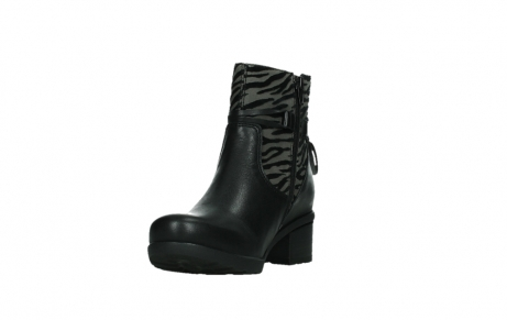 wolky ankle boots 07504 macau 28000 black effect leather_9