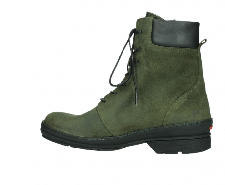 wolky ankle boots 07640 partizan 45730 forestgreen suede_14