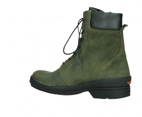 wolky ankle boots 07640 partizan 45730 forestgreen suede_15