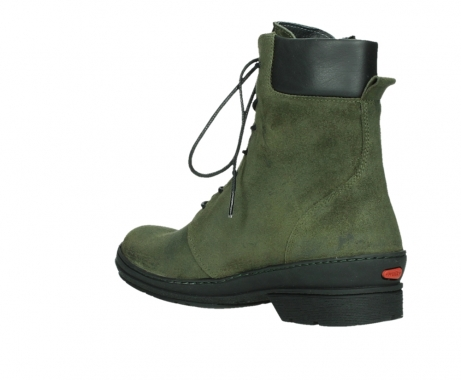 wolky ankle boots 07640 partizan 45730 forestgreen suede_16