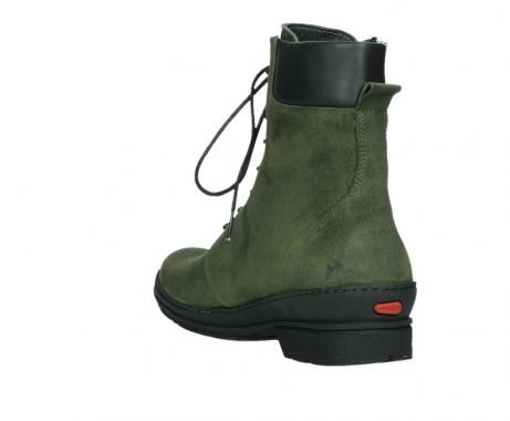 wolky ankle boots 07640 partizan 45730 forestgreen suede_17
