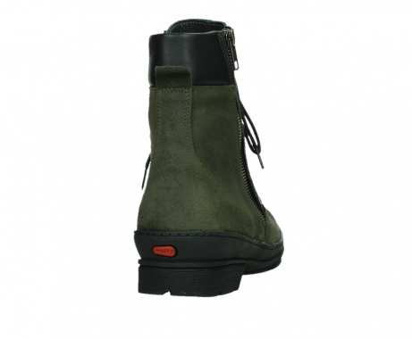 wolky ankle boots 07640 partizan 45730 forestgreen suede_20