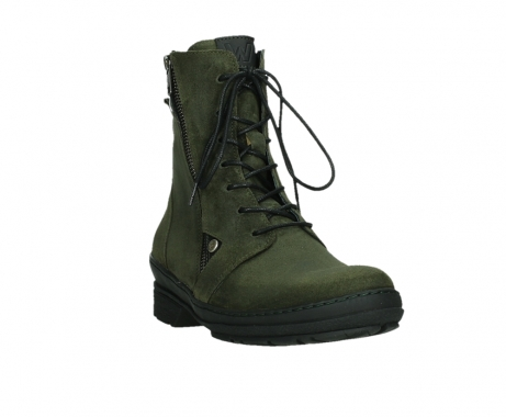 wolky ankle boots 07640 partizan 45730 forestgreen suede_5