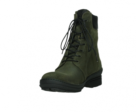wolky ankle boots 07640 partizan 45730 forestgreen suede_9