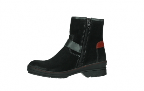 wolky ankle boots 07641 nitra 45000 black suede_12