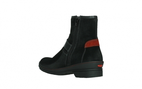 wolky ankle boots 07641 nitra 45000 black suede_16