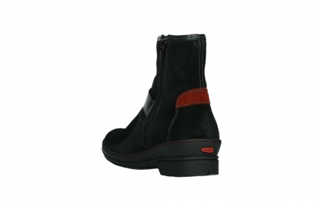 wolky ankle boots 07641 nitra 45000 black suede_17