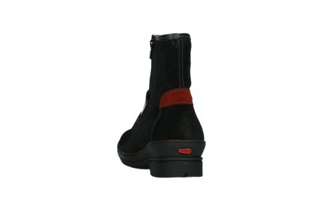 wolky ankle boots 07641 nitra 45000 black suede_18