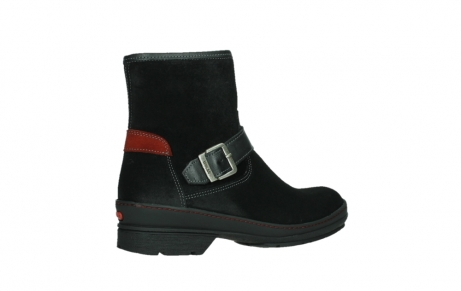 wolky ankle boots 07641 nitra 45000 black suede_23