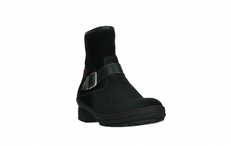 wolky ankle boots 07641 nitra 45000 black suede_5