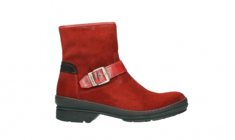wolky ankle boots 07641 nitra 45505 darkred suede_1