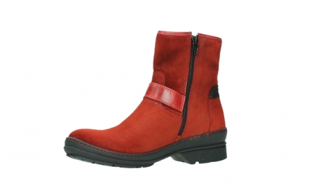 wolky ankle boots 07641 nitra 45505 darkred suede_11