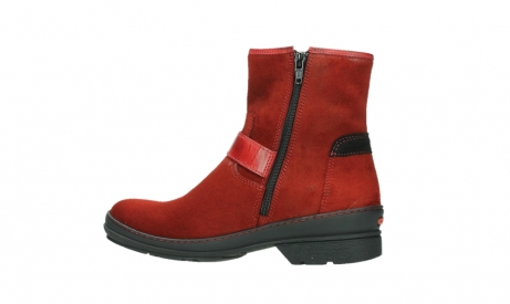 wolky ankle boots 07641 nitra 45505 darkred suede_14