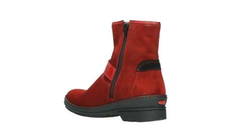 wolky ankle boots 07641 nitra 45505 darkred suede_16