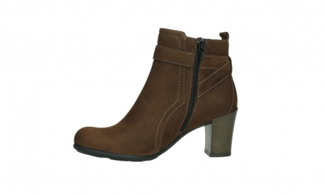 wolky ankle boots 07749 raquel 13410 tabaccobrown nubuckleather_12