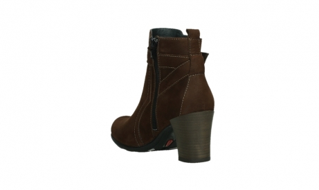 wolky ankle boots 07749 raquel 13410 tabaccobrown nubuckleather_17