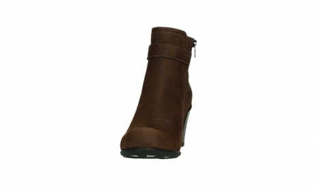 wolky ankle boots 07749 raquel 13410 tabaccobrown nubuckleather_8