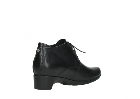 wolky ankle boots 07821 zircon 20000 black leather_10