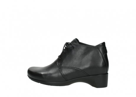 wolky ankle boots 07821 zircon 20000 black leather_2