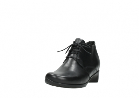 wolky ankle boots 07821 zircon 20000 black leather_21