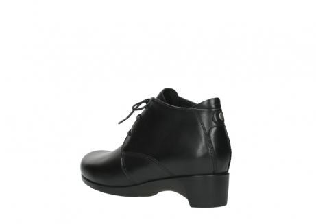 wolky ankle boots 07821 zircon 20000 black leather_4