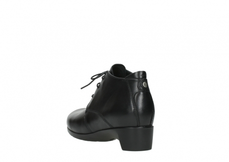 wolky ankle boots 07821 zircon 20000 black leather_5