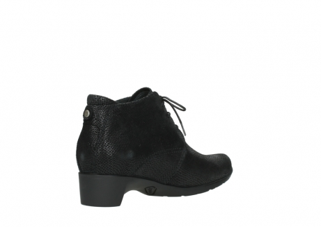 wolky ankle boots 07821 zircon 71000 black leather_10