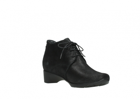 wolky ankle boots 07821 zircon 71000 black leather_16