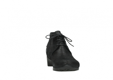 wolky ankle boots 07821 zircon 71000 black leather_18